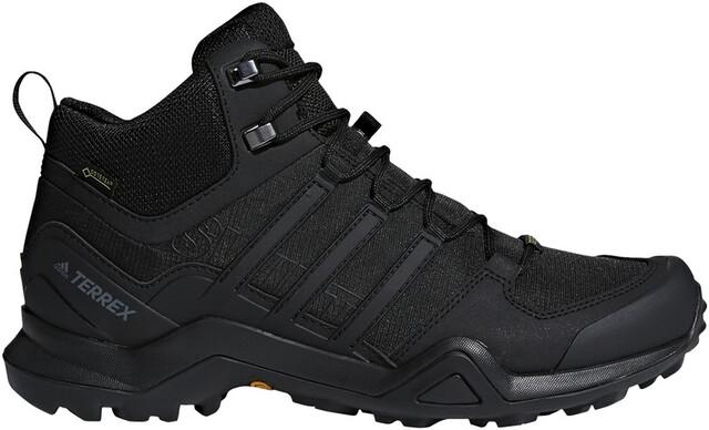 adidas TERREX Swift R2 Mid Gore Tex Vandresko Herrer, core blackcore blackcore black